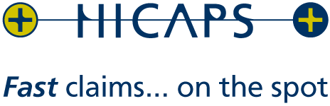 HICAPS logo for  private health insurance claims